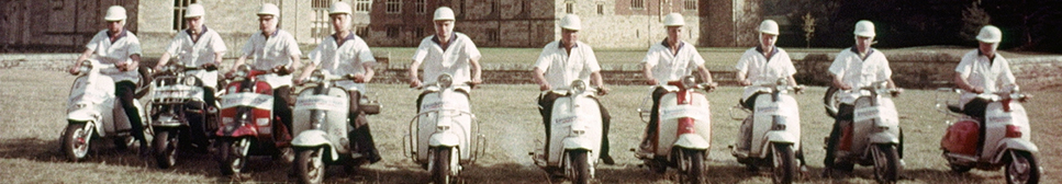 Group on Vespas